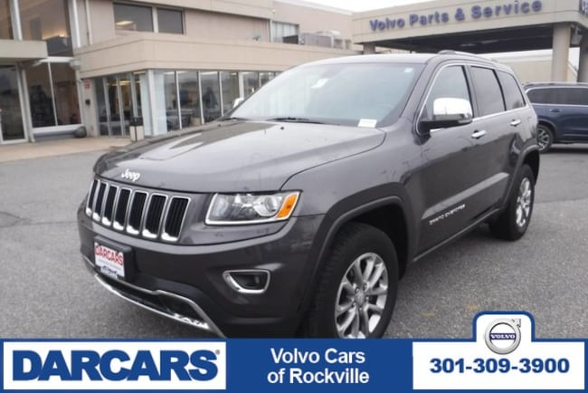 Used 2015 Jeep Grand Cherokee Limited, 4WD SUV Rockville