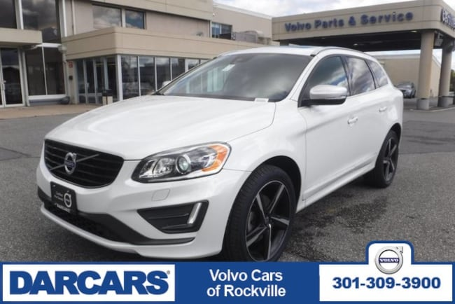 Used 2016 Volvo XC60 T6 Drive-E R-Design, AWD Rockville