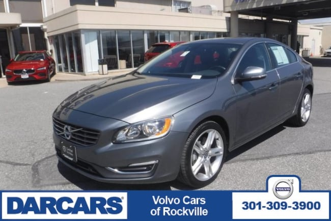 Used 2016 Volvo S60 T5 Premier, AWD Rockville