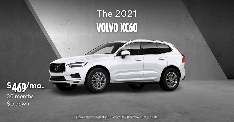 New 2021 Volvo XC60 T5 Momentum Lease Special