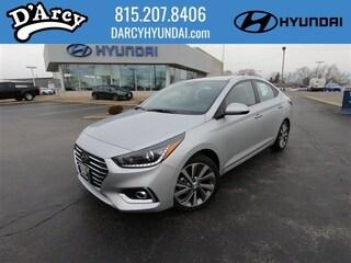 New 2019 Hyundai Accent Limited Sedan 3KPC34A31KE055331 for Sale at D'Arcy Hyundai in Joliet, IL