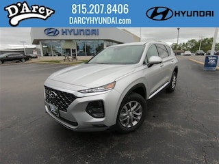 New 2019 Hyundai Santa Fe SEL 2.4 SUV 5NMS3CAD8KH069296 for Sale at D'Arcy Hyundai in Joliet, IL
