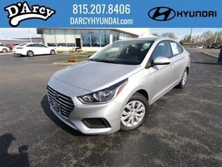New 2019 Hyundai Accent SE Sedan 3KPC24A36KE080258 for Sale at D'Arcy Hyundai in Joliet, IL