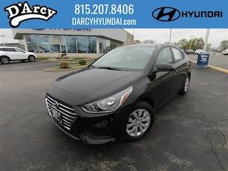 New 2019 Hyundai Accent SE Sedan 3KPC24A34KE061448 for Sale at D'Arcy Hyundai in Joliet, IL