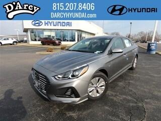 New 2019 Hyundai Sonata Hybrid SE Sedan KMHE24L32KA084554 for Sale at D'Arcy Hyundai in Joliet, IL
