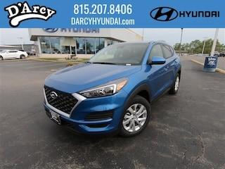 New 2019 Hyundai Tucson SE SUV KM8J2CA47KU000876 for Sale at D'Arcy Hyundai in Joliet, IL