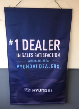 #1 Hyundai Dealership in the District for Customer Satisfaction Banner