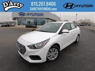 New 2019 Hyundai Accent SE Sedan 3KPC24A3XKE072177 for Sale at D'Arcy Hyundai in Joliet, IL