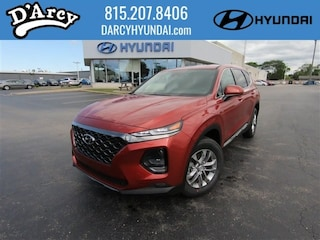 New 2019 Hyundai Santa Fe SEL 2.4 SUV 5NMS33AD9KH123303 for Sale at D'Arcy Hyundai in Joliet, IL