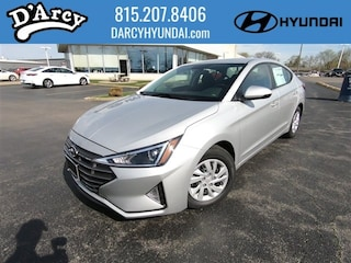 New 2019 Hyundai Elantra SE Sedan 5NPD74LF3KH481369 for Sale at D'Arcy Hyundai in Joliet, IL