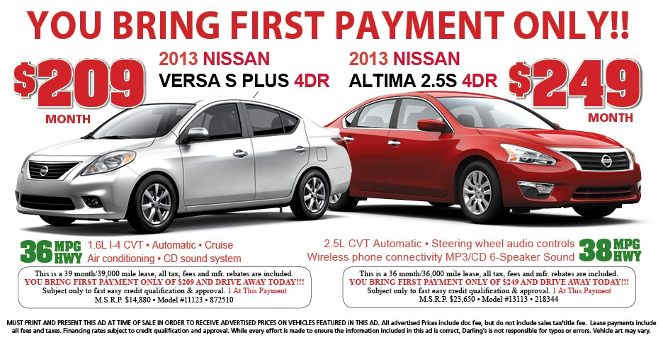 Donu0027t Miss Our On These Great Lease Deals In March!