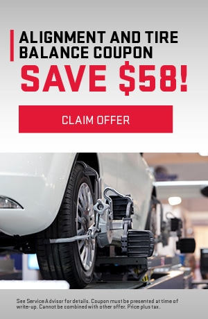 Alignment and Tire Balance Coupon