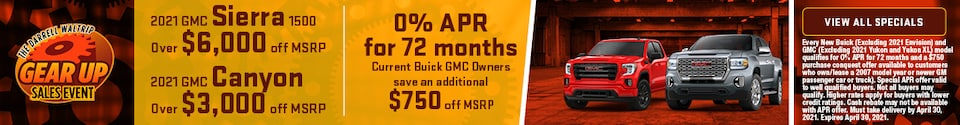 New GMC Specials