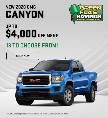 2020 GMC Canyon