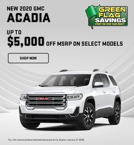 2020 GMC Acadia