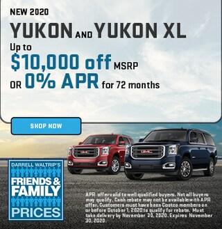 New 2020 Yukon and Yukon XL