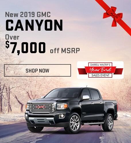 New 2019 GMC Canyon