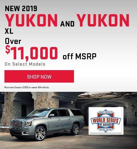 New 2019 Yukon and Yukon XL
