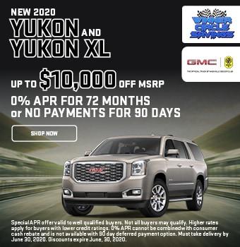 2020 GMC Yukon & Yukon XL