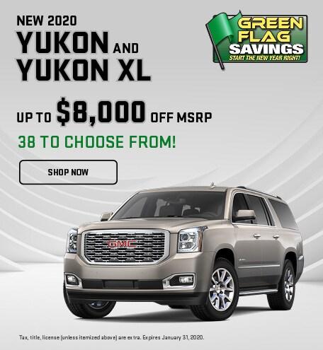 2020 GMC Yukon and Yukon XL
