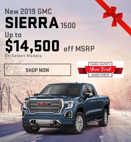 New 2019 GMC Sierra 1500