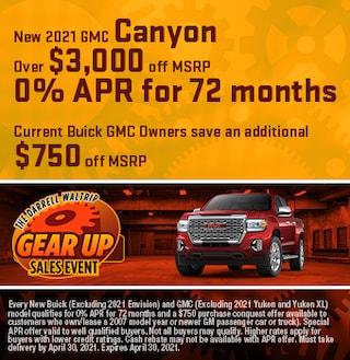 New 2021 GMC Canyon