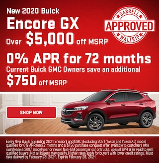 New 2020 Buick Encore GX