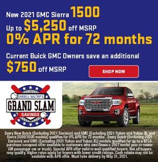 New 2021 GMC Sierra 1500