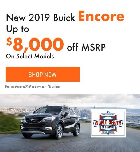New 2019 Buick Encore