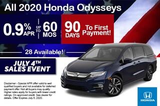 2020 Odyssey Offer - 4th of July