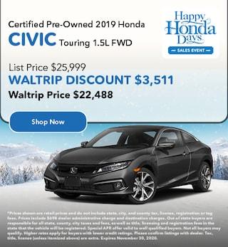 CPO 2019 Honda Civic