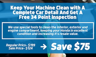 Detail Special - Free 34 Point Inspection