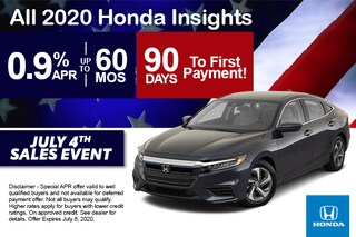 2020 Insight Offer - 4th of July