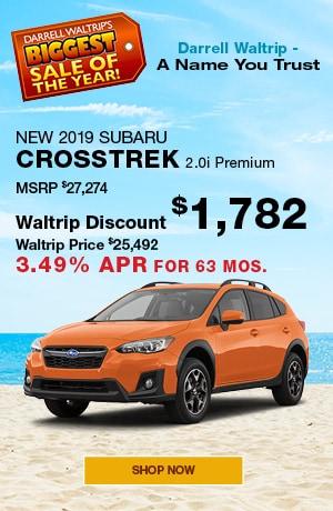 New 2019 Subaru Crosstrek 2.0i Premium