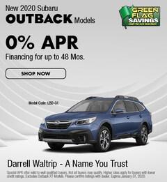 2020 Subaru Outbacks