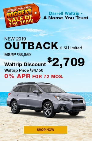 New 2019 Outback 2.5i Limited
