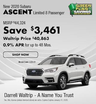 2020 Subaru Ascent Limited - 8 Passenger