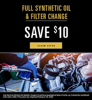 Full Synthetic Oil & Filter Change