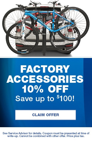 Factory Accessories 10% Off