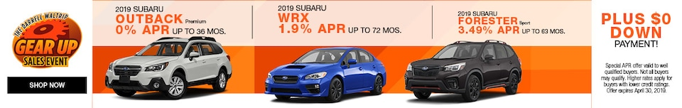 Gear Up Sales Event