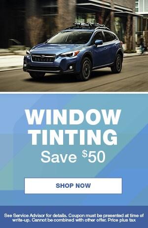 Window Tinting Save $50