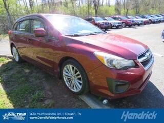 Used 2013 Subaru Impreza Wagon 2.0i Premium Wagon 3292120P for sale in Franklin, TN
