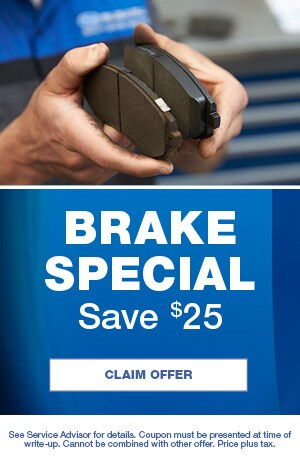 Brake Special Save $25