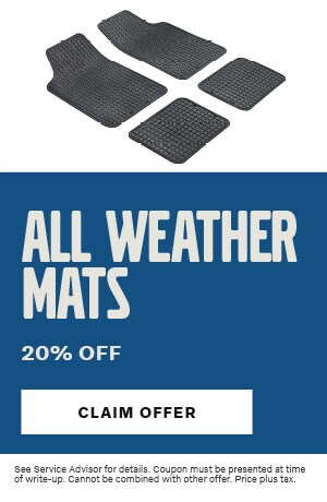 All Weather Mats 20% Off