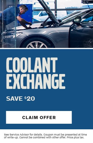 Coolant Exchange Save $20