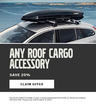 Roof Cargo Special 25% OFF
