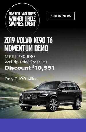 2019 Volvo XC90 T6 Momentum Demo