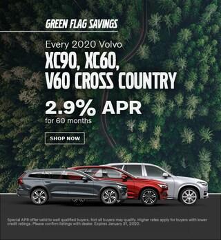 Every 2020 Volvo XC90, XC60, V60CC