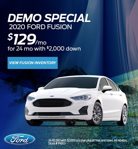 Demo Special  2020 Ford Fusion