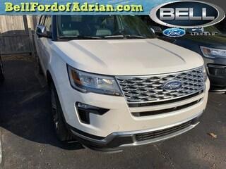2019 Ford Explorer Platinum SUV AWD